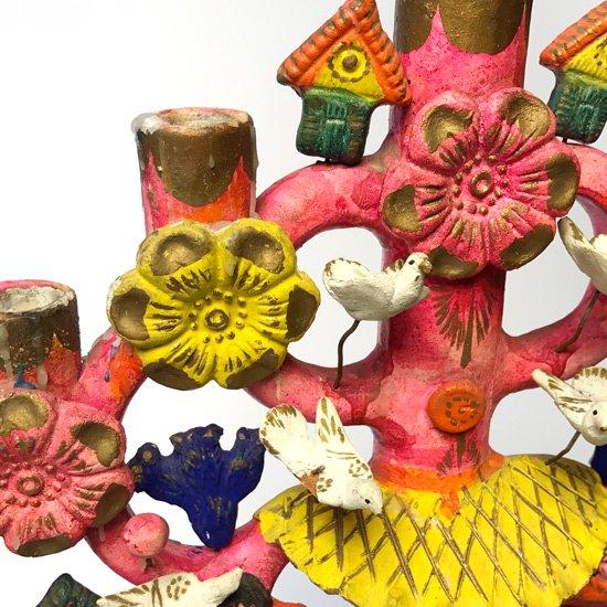 1980年代にメキシコのメテペックで作られた大きなツリーオブライフ