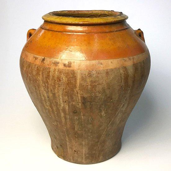 ヨーロッパの陶器 : 油壺(耳付き)
