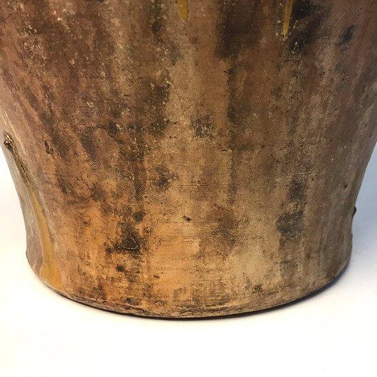 ヨーロッパの陶器 :油壺(耳付き)