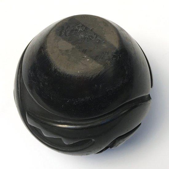 ヴィンテージアイテム:サンタクララ・プエブロ族による古い黒陶のボウル