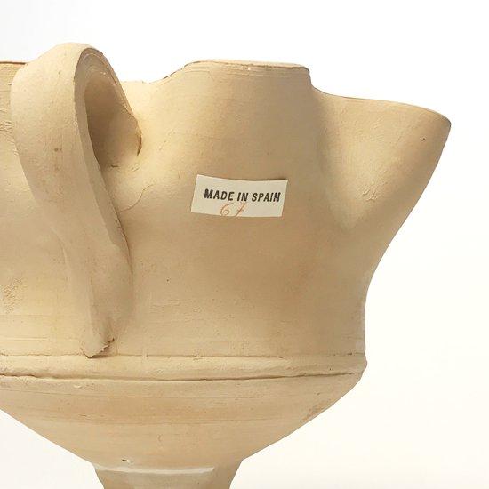 ヨーロッパの陶器 : 素焼きのカップ