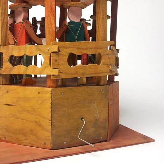 1970年代にメキシコで作られた木製のおもちゃ