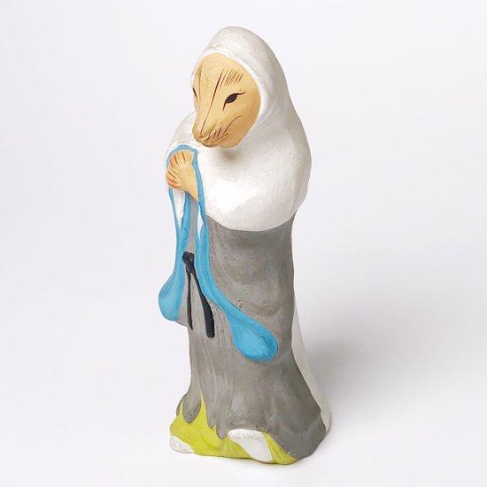 郷土玩具の中でも最も歴史があると言われている京都の伏見人形の古い白蔵主