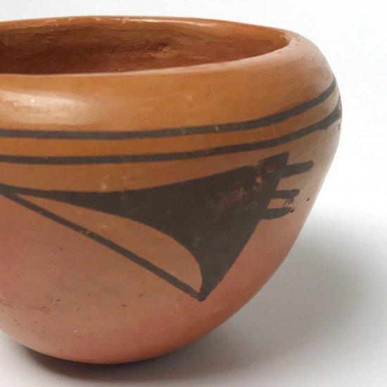 ヴィンテージアイテム:ネイティブアメリカン ホピ族による陶器のボウル