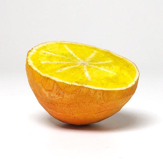 フルーツオブウッドカービング / オレンジ