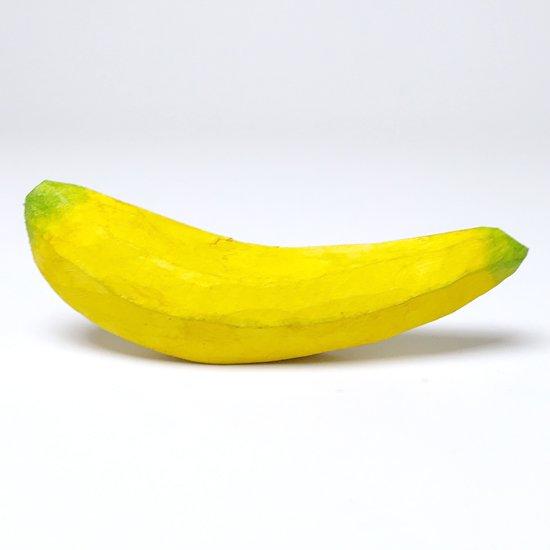 ウッドカービングフルーツ / バナナ