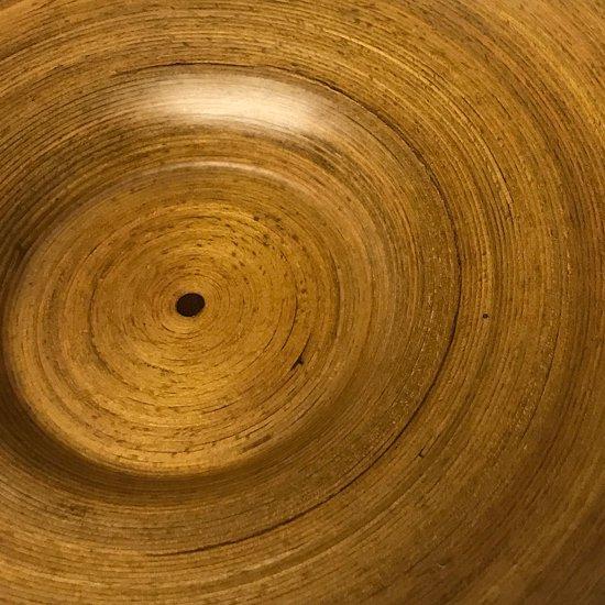 1か所、螺旋に沿って入る塗膜のワレ