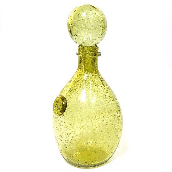 フランスにあるガラス工芸の街 ビオ で1980年代ごろに作られたデキャンタ