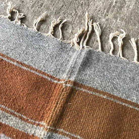 1970年代にメキシコのオアハカで織られたウール素材のラグ