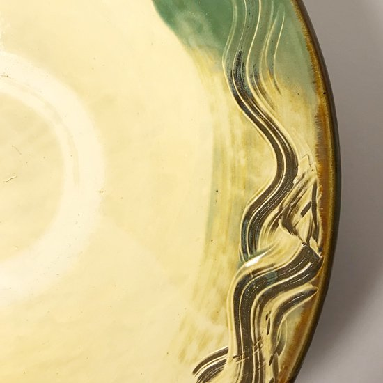 日本一の民窯 小鹿田焼 の直径50cmを超える古い大鉢