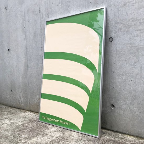 Malcolm Grear Designers による、グッゲンハイム美術館のカリグラフのポスター