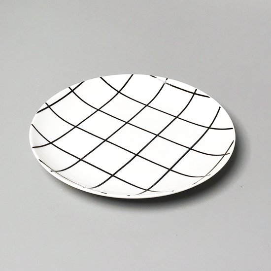 "Swimsuit Department:""Grid"" Bread Plate"