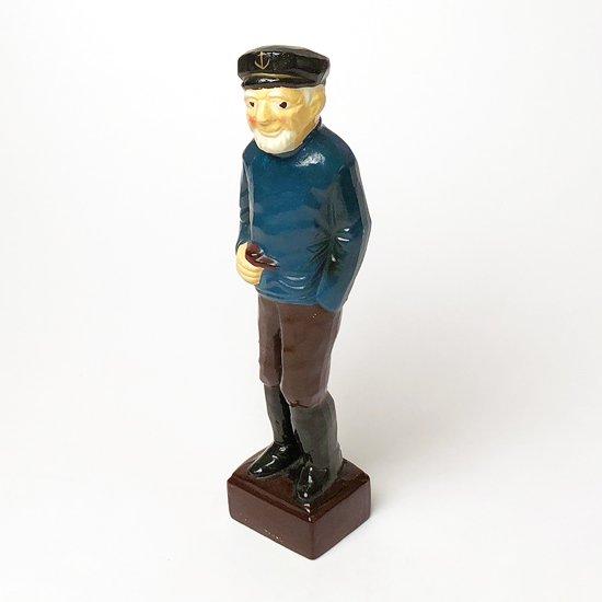 「マドロス人形」をモチーフにした古いセラミック製のフィギュア