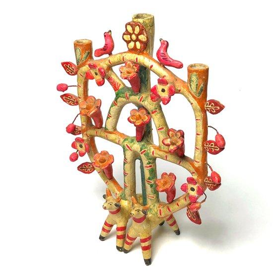 メキシコのマタモロスの Aurelio Flores による古いツリーオブライフ