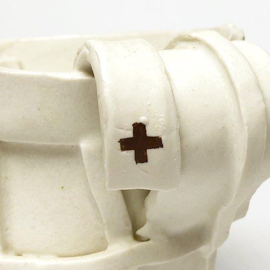 キム・ホノさんのカップ型の鉢