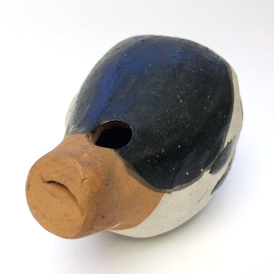 山口県下関市で作られていた郷土玩具『ふく笛(河豚笛)』