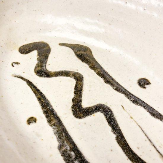 島根県布志名の陶芸家 舩木研兒 による白釉楕円鉢