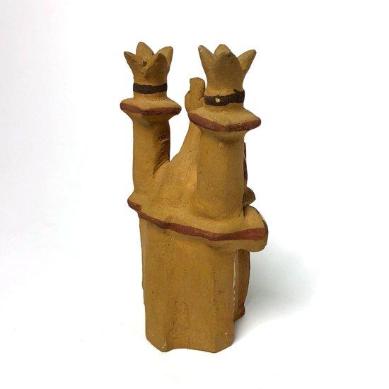 1980年代ペルーで製作された陶器の教会のオブジェ