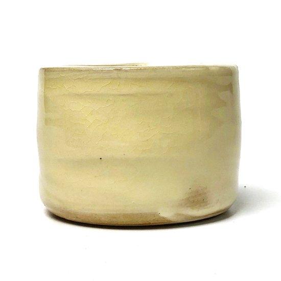 フォルムの良い、出西窯のモダンな灰落し(灰皿)