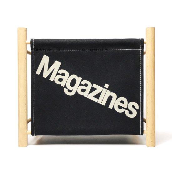 Magazine Rack -Black-