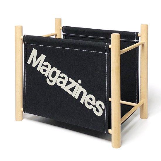 Magazine Rack -Black