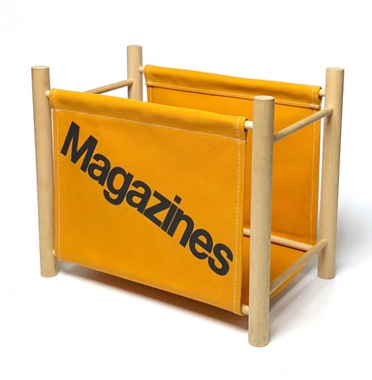 Magazine Rack -Mustard