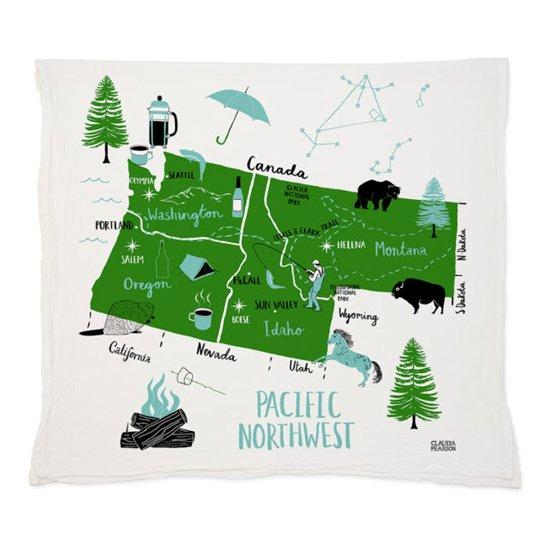 Pacific Northwest Towel