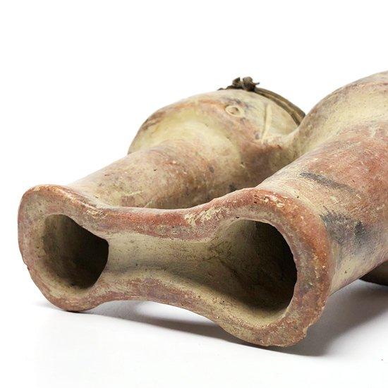 古代メキシコの文化が栄えていた地域でスーベニアとして作られた1980年代の太鼓のオブジェ