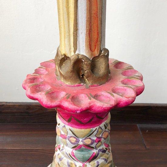 1970年代メキシコのメテペックで作られたとても大きな燭台