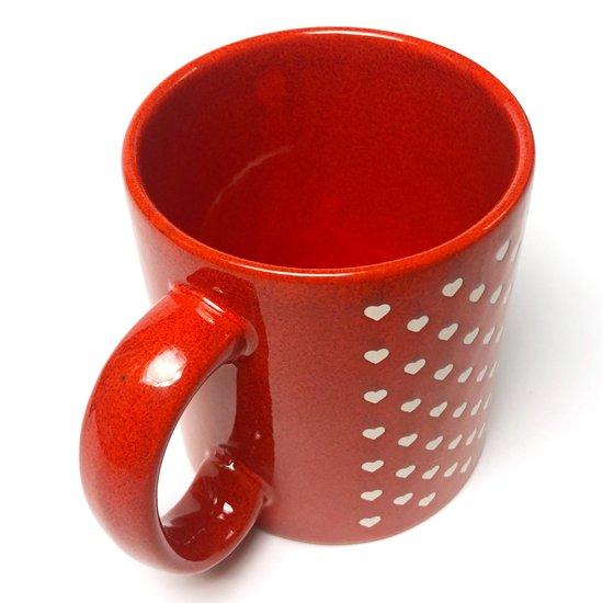 西ドイツ時代に製作されていた古い陶器のマグカップ
