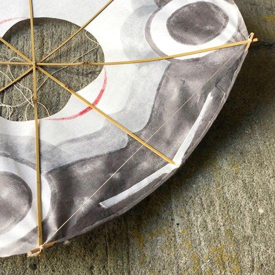1950年代に考案された下関の郷土玩具 ふく凧 の初期のもの
