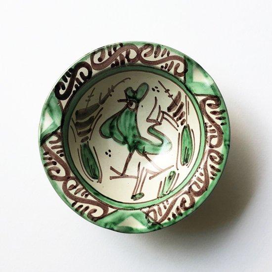 スペインのテルエルで伝統的に作られるPUNTERの絵皿