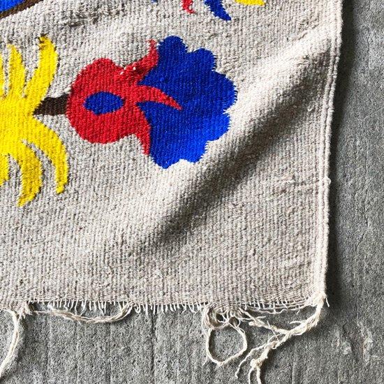 1970年代ごろにメキシコで織られたラグ