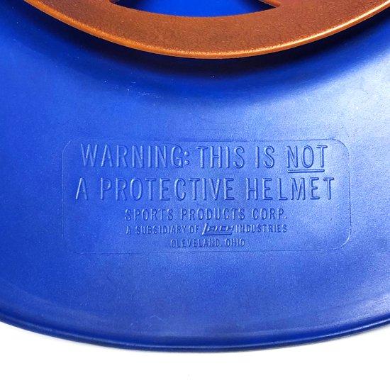 アメリカのスポーツ用品メーカーが1960年代に販売していた、応援グッズとしてのヘルメット