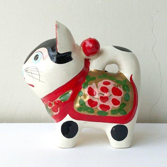 1970年代に作られた愛知の郷土玩具 犬の張子