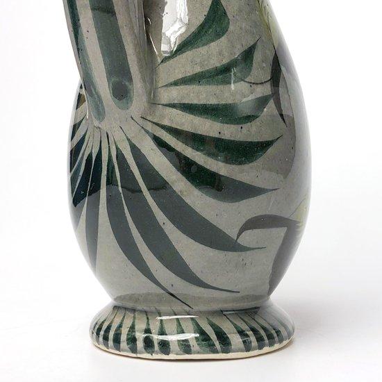 メキシコにある陶器の有名な街、トナラで1970年代に作られた陶器のジャグ