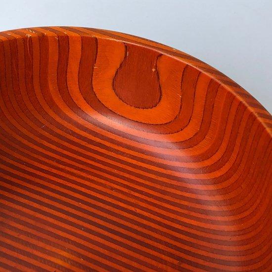 フィンランドのデザイナー Paavo Asikainen によるフィンランドバーチの積層材を用いたウッドボウルです。