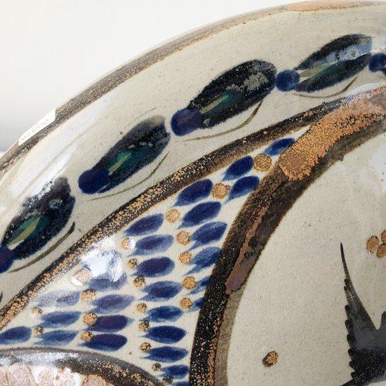 メキシコのトナラで作られた古い陶器のオブジェ