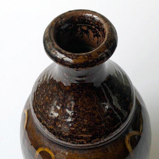 福岡の小石原焼の古い山道徳利
