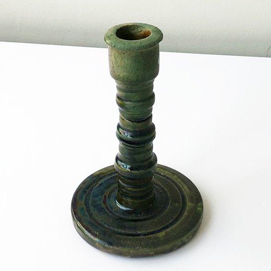 1970年代ごろにスペインで製作された陶器のキャンドルホルダー