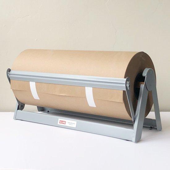 ULINE 純正の替えロール「Kraft Paper Roll」との使用イメージ