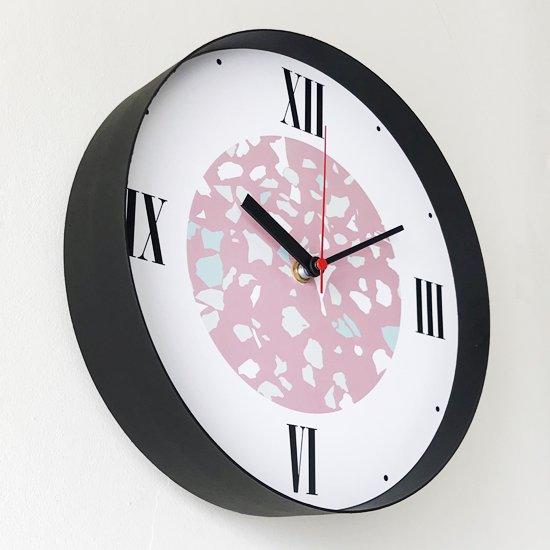 Swimsuit Department Clock Division:Wall Clock 『Terrazzo Black』