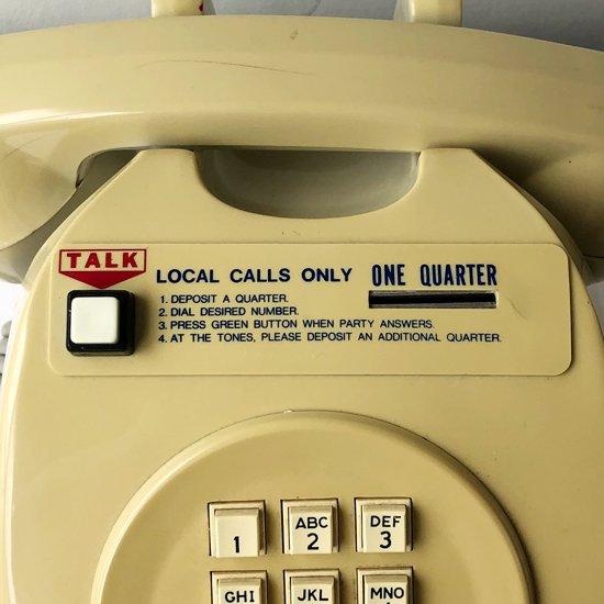 Vintage Miscellaneous: Public Telephone / USA