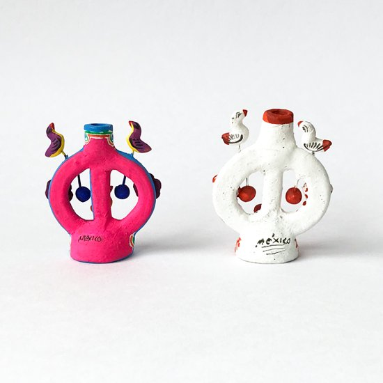 メキシコを代表するフォークアートの一つ「ツリーオブライフ」のミニチュア