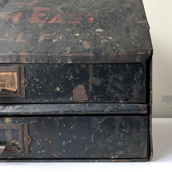 Vintage Miscellaneous: Steel Drawer / USA