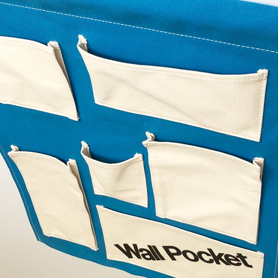 Swimsuit Department:Wall Pocket -Blue-