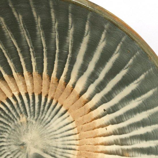 大分県の民窯 小鹿田焼 の古い尺皿