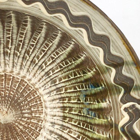 大分県の民窯 小鹿田焼 の古い大鉢