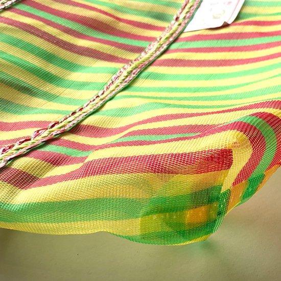 漁網を使い製作されている台湾の伝統的なトートバッグ