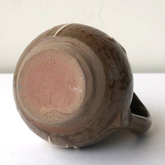 福岡県の民窯 小石原焼 の小さな水差しの古作